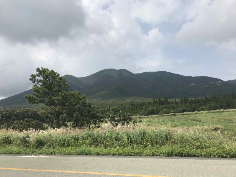 阿蘇の高原地帯へ